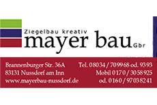 Mayer Bau - Sponsor des Heuberglauf