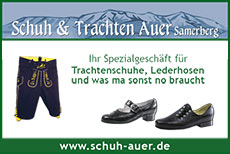 Schuh Auer - Sponsor des Heuberglauf